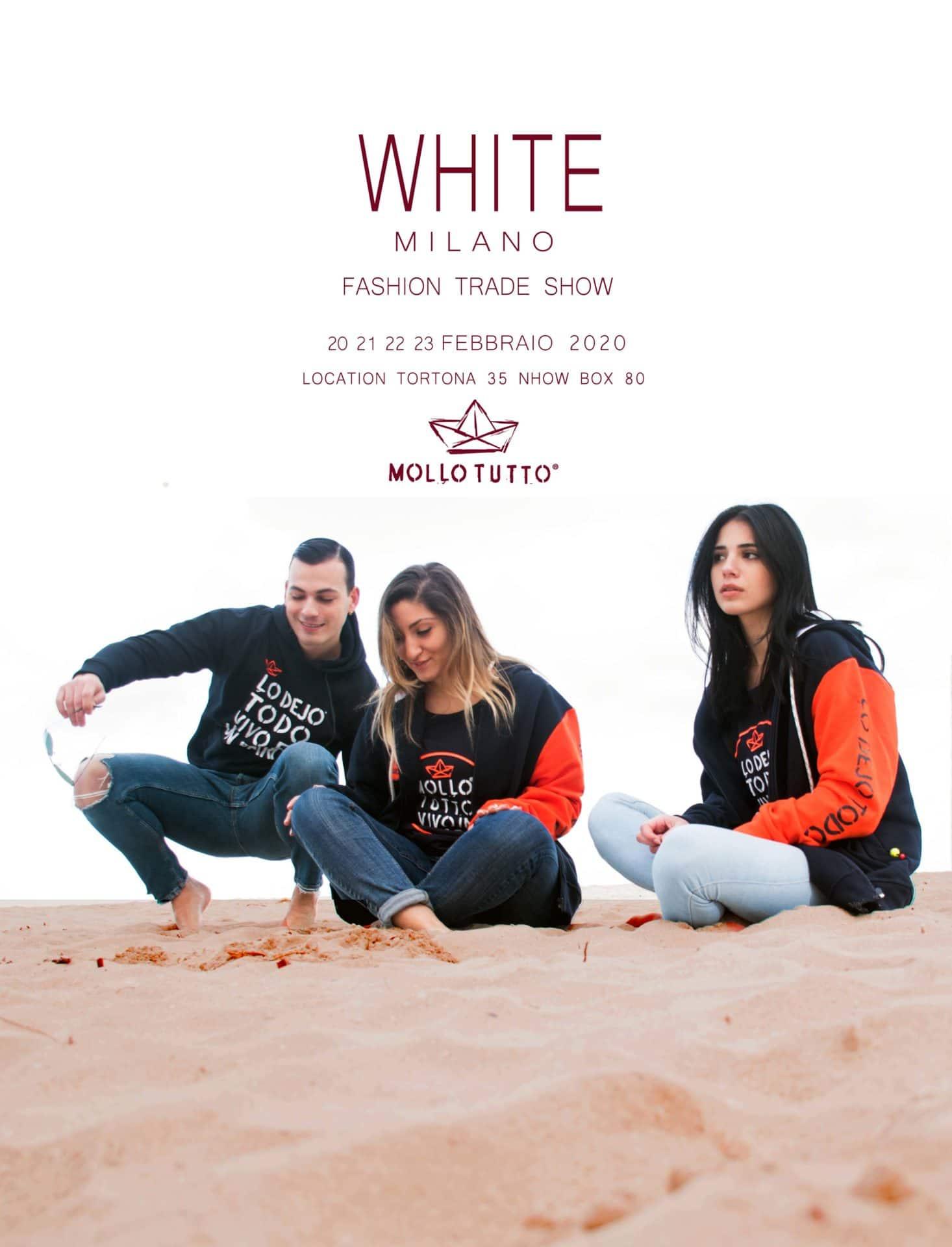 Siamo al White Show di Milano