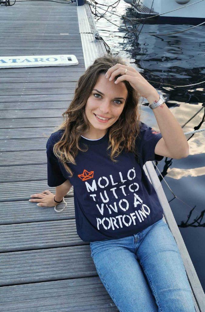 T-shirt mollo tutto vivo a Portofino