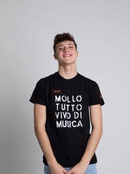 T-shirt mollo tutto vivo di musica