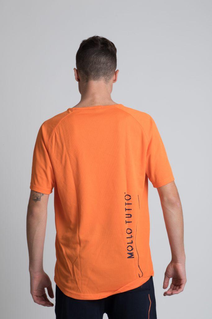 T-shirt Mollo Tutto Arancio Fluo