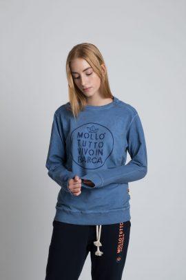 Felpa Mollo Tutto jeans unisex