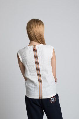 T-shirt donna fashion 100% Lino
