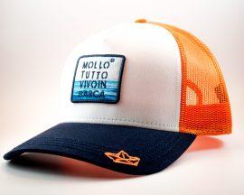 Cappello baseball mollo tutto vivo in barca