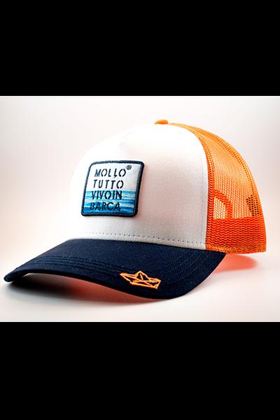 cappello-baseball-arancio-mollotutto