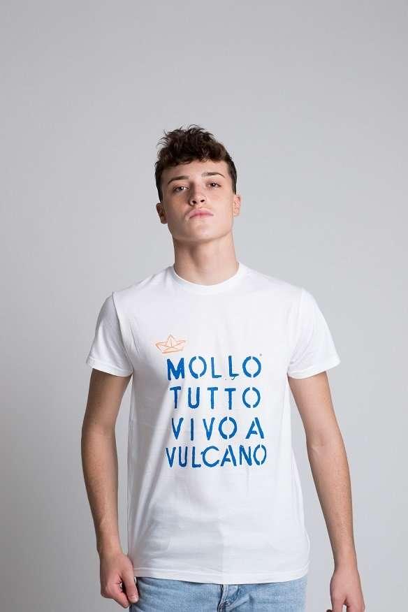 T-shirt Mollo tutto vivo a Vulcano