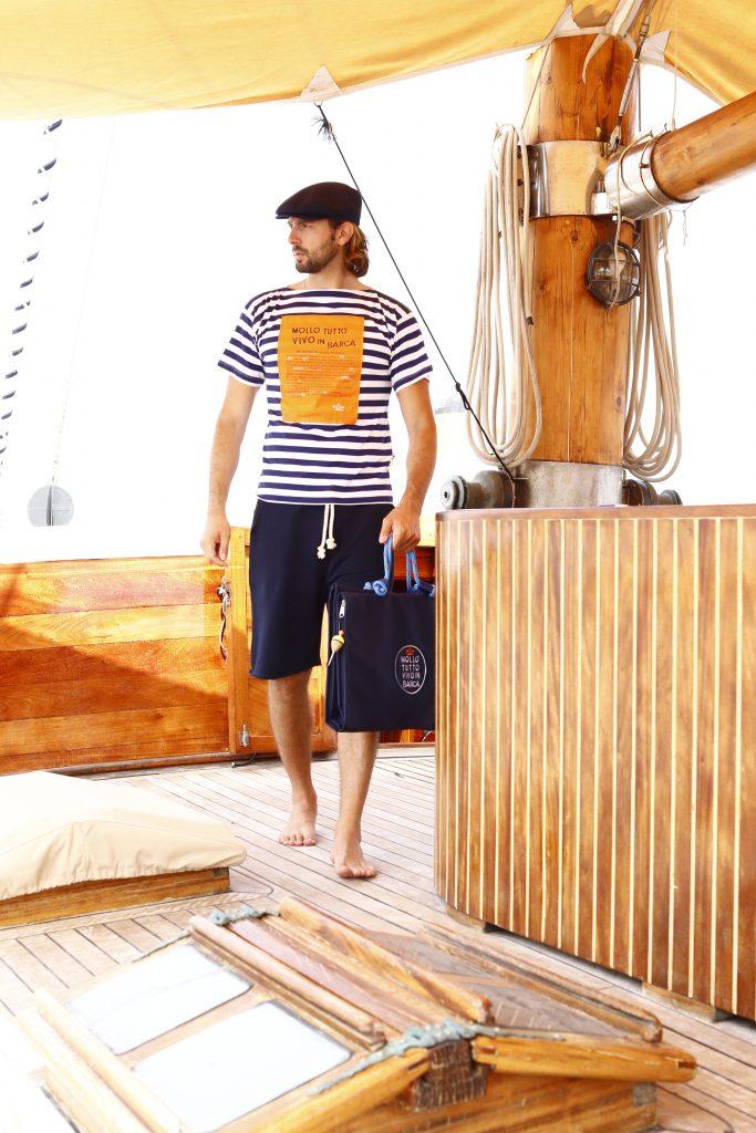 T-shirt marinaio uomo