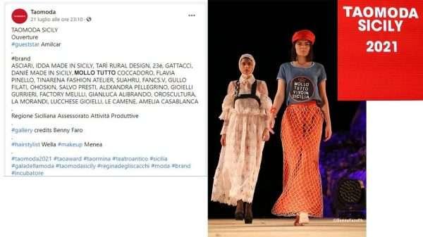 Mollo Tutto al Taomoda 2021- Teatro Antico Taormina